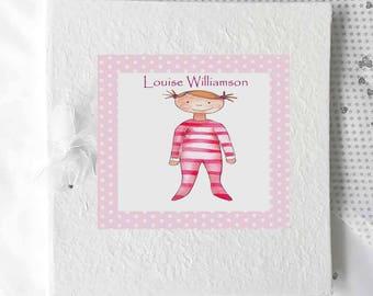 Christening album etsy baby photo albumspersonalised baby giftsbaby girl albumpersonalised baby gifts negle Gallery