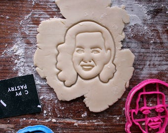 Katy Perry Cookie Cutter // fondant cutter // cookie stamp // for custom cookies // personalized cookie cutter