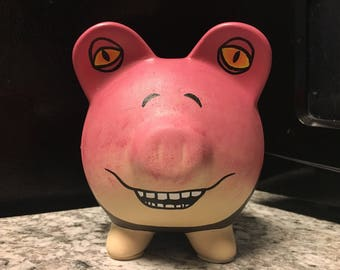 READY TO SHIP Jar Jar Binks Star Wars Hand Painted Ceramic Piggy Bank Medium