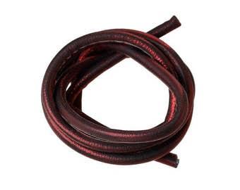 1 m cord red brilliant 5mm