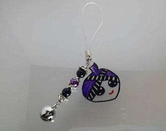 Hmong girl Cellphone Charm