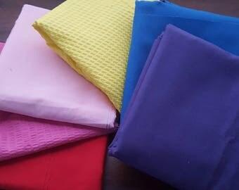 Solid Color Fabric Destash