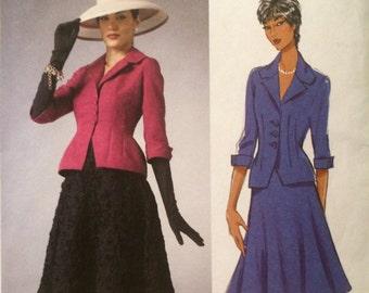 Retro Suit Pattern---Butterick 5962---Designed by Gertie