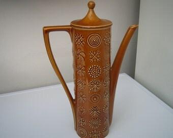 Portmeirion Totem Coffee Pot c1960+