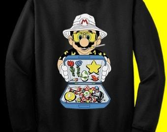 SWEATSHIRT Super Mario Bros- Fear and Loathing in Las Vegas movie