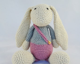 Baby Gift,Craft,Crocheted,Crocheted Toys,Crochet Love,Handmade,Handcraft,Plush,Plushie,Toy,Stuffed Toy,Animal,Rabbit,Cute,Unique