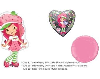 Strawberry Shortcake Balloon Set