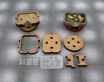Infinity - Objective Marker Kit - Strategic Control Console