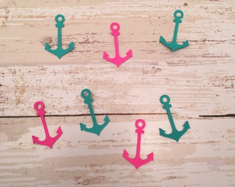 Anchor Confetti & Vinyl Stickers