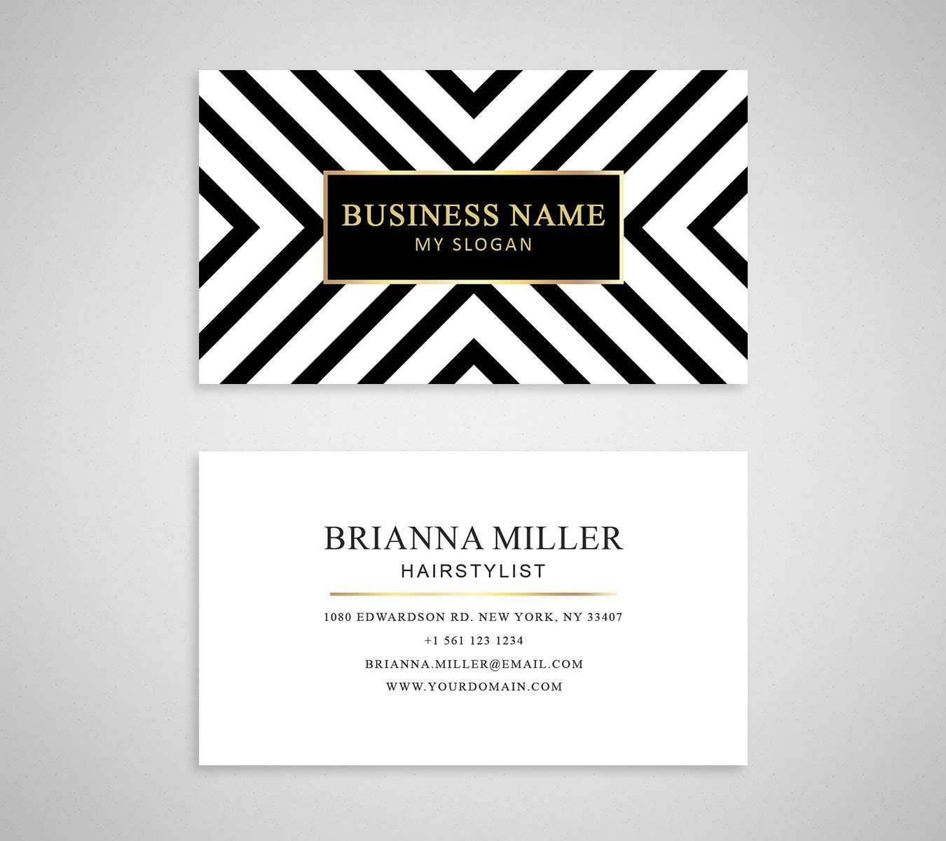 Business card template 04 2 sided business card by for 2 sided business cards templates free