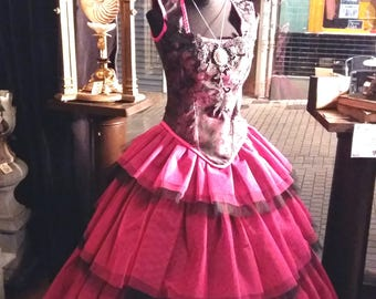 "Unique creation ""CORALYN"" dress"