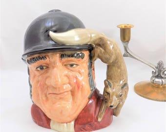 Large Gone Away Toby Jug, Royal Doulton D 6531, 1959 Doulton and Co Ltd, Toby Mug