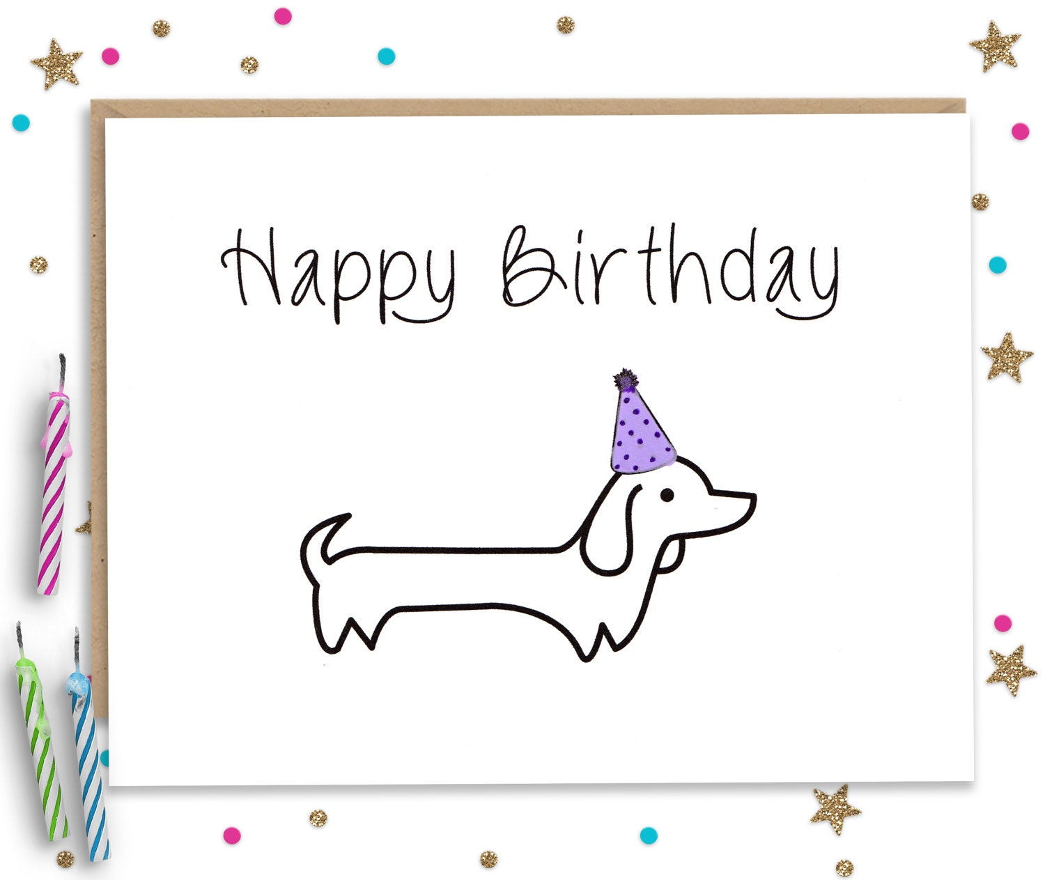 Dog birthday card – Birthday Card for Dog