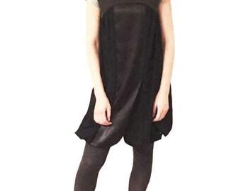 Black Tunic Dress,Free Shipping