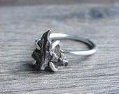 Raw Rough Diamond Rings Geode Crystal Amp Stone By Gemologies