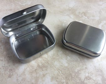 Canadian Standard Mini Hinged Tin Crafting or Shipping
