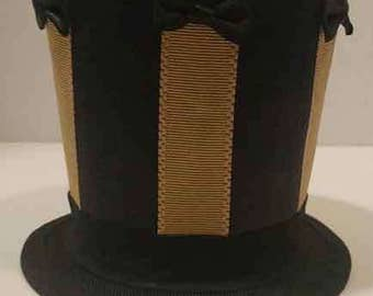 Mini Top Hat Fascinator cosplay steampunk tophat Costume