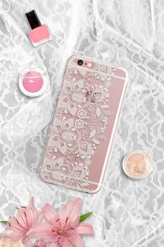 Lace iPhone 6S Case Clear iPhone 6S Plus Case Clear Samsung Galaxy S6 Case Clear iPhone 6 Case Clear iPhone 6 Plus Case Clear iPhone 7 Case