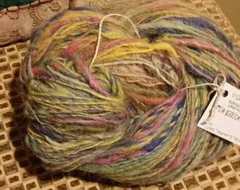 Art yarn. Wool. Crochet. Knitting. Fiber.