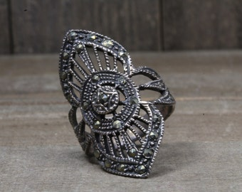 Used Sterling Silver Costume Ring