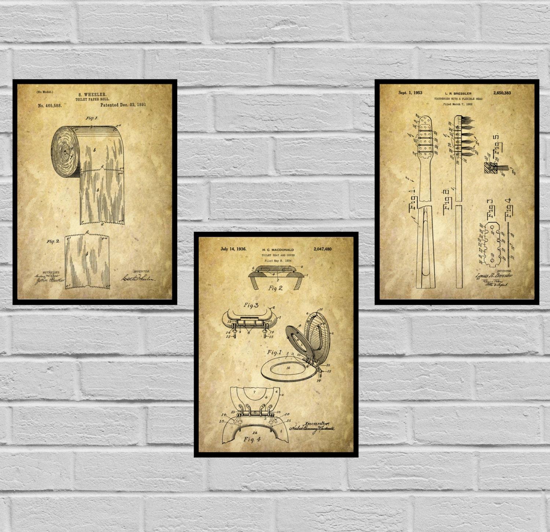 Bathroom Poster, Bathroom Art, Bathroom Decor, Bathroom Art ...