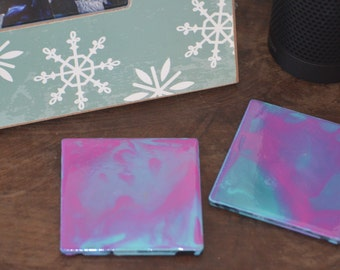 Abstract Drinks Coaster - Set of 4