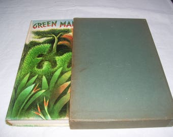 Green Mansions by W H Hudson HC in sleeve Illustrated by Covarrubias 1944 Vintage