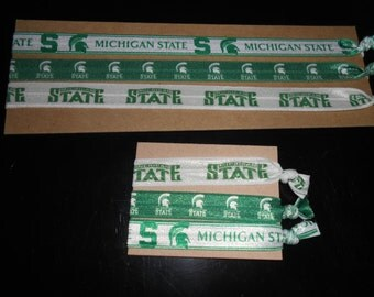 Michigan State FOE Hairties x 3 NEW