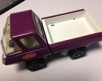 Vintage 1970s Tonka Stables Pick-up Truck Purple