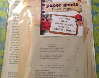 Paper goods emphemera pkg