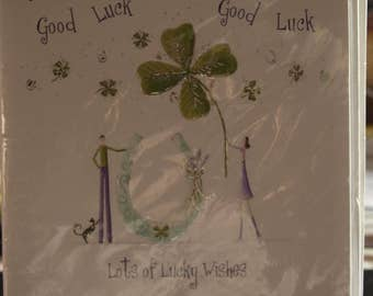 Good Luck Lots of Luckly Wishes