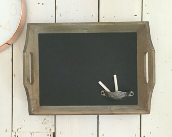 Rustic Chalkboard, Chalk Board, Framed Chalkboard, Blackboard, Kitchen Wall Decor, New Home Gift, Kitchen Chalkboard, Notice Board, Office