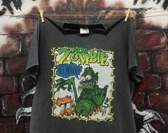Rob Zombie Heavy Metal White Zombie Band T Shirt