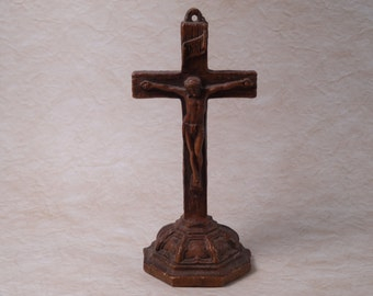 Syroco Cross/Crucifix Table Stand or Wall Mount