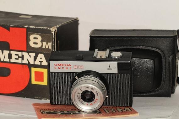 Smena 8M Cool Vintage Retro 35mm Film Camera by Lomo N8