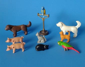 """Playmobil Victorian Mansion """" Replacement Pets / Animals """"  5300 Series HTF RARE"""