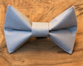 Grey Dog Bow Tie, Dog Bow Tie, Grey Dog Bow, Grey Bow Tie, Dog Bow for Wedding, Summer Dog Bow, Bow Tie Accessory, Velcro Bow Tie