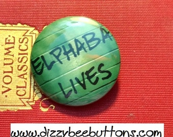 "Wicked - Son of a Witch inspired- 1.25"" or 1.5"" - Pinback Button - Magnet - Keychain - Broadway Musicals - Book lovers - Fiction - Oz"