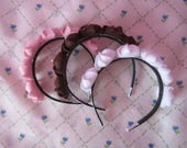 Whipped Cream, Kawaii, Cute, Felt, Lolita, Fairy Kei, Otome, Pastels, Dessert, Headband