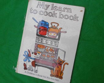My Learn to Cook Book 1968
