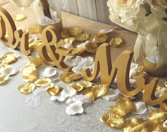 "DR. & MRS, Mr. and Dr., Dr. and Dr. wedding sweetheart table letters - 6"" ready to paint or decorate. Wedding, reception decor"