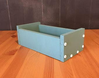 Small Handcrafted Crate