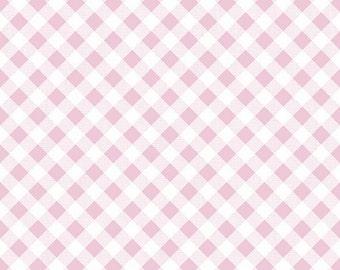 Sew Cherry 2 Gingham Pink