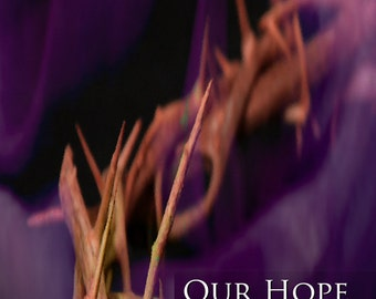 Thorns with Purple Robe - His Story  /  Inspirational Church Banner (G417-3)