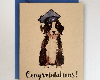 Bernese Mountain Dog  - Congratulations / Puppy / Graduation