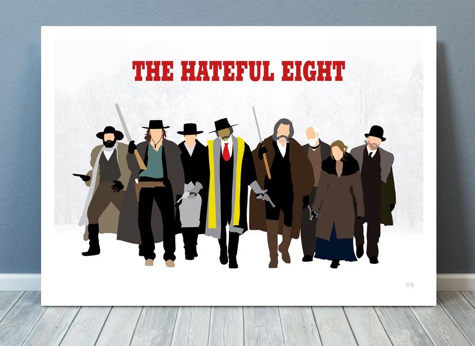 Minimalist Classroom Uk ~ The hateful eight quentin tarantino minimalist movie