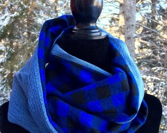 Infinity scarf for men or women