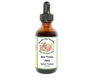 Milk Thistle Seed Herbal Tincture