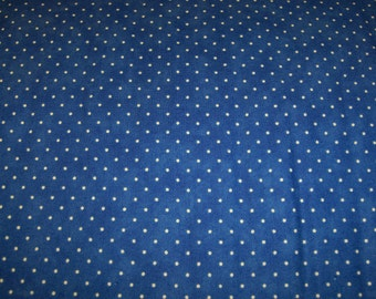 Moda 8654 30 Royal blue background with small white dots