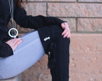 Zoey Thigh High Boot Socks.